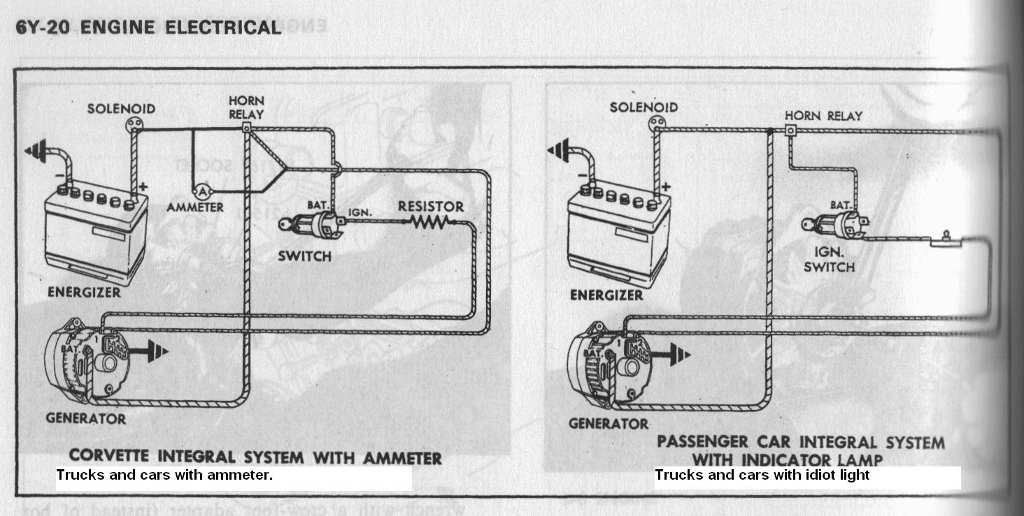 Chevy 350 Alternator Wiring on studebaker wiring diagrams