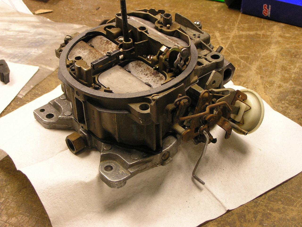 79 gmc sierra carburetor diagram